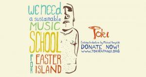 Mahani Teave impulsa campaña de recaudación de fondos para Escuela de Música en Isla de Pascua