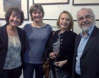 Andrea Jadresic organiza muestra en su taller