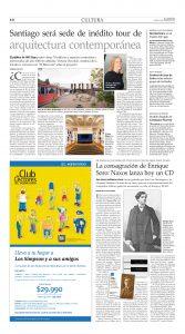 El Mercurio, Cultura, viernes 10 de febrero de 2016