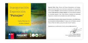 Andrea Jadresic expone obras en Cerro San Cristóbal