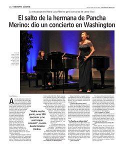 Las Ultimas Noticias, Tiempo Libr e, martes 18 de marzo de 2017