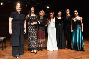 Concierto Mujeres en la Música en el GAM