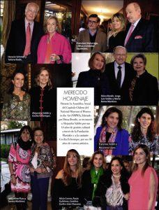 Revista Cosas, vida social, 29 de septiembre de 2017