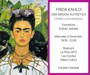 Charla Frida Kahlo Rasavant