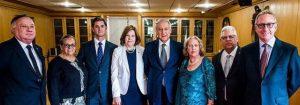 Miembros de Gabriela Mistral Foundation reciben reconocimiento del Gobierno