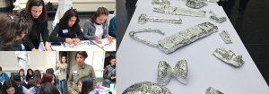"""Artistas de """"Metalmorfosis"""" participan en encuentro con estudiantes"""