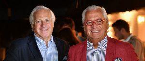 Gabriel Carvajal y Ramón Sauma, coleccionistas de arte contemporáneo
