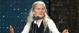 Benedicta Sánchez, la debutante de 84 años que hizo historia en los goya por unos momentos