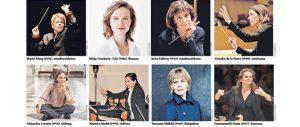 Directoras de orquesta la sigilosa irrupción femenina