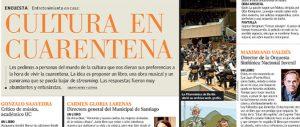 Ideas Para Vivir la Cultura en Cuarentena