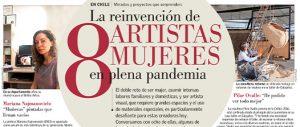 La reinvención de 8 artistas mujeres en plena pandemia