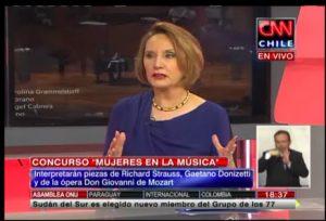 """Drina Rendic habla sobre el concurso """"Mujeres en la Música"""" en CNN Chile"""