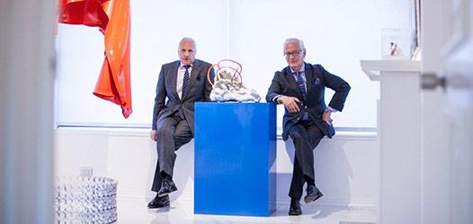 Gabriel Carvajal y Ramón Sauma hacen pública su colección CA.SA