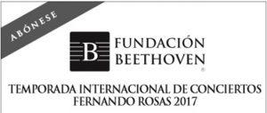 Fundación Beethoven presenta una nueva Temporada Internacional Fernando Rosas para el 2017