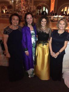 Comitiva del Capitulo Chileno del NMWA en la gala del aniversario numero 30 del NMWA de Washington