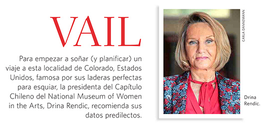 Drina Rendic en Revista Domingo