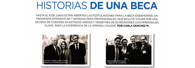Francisca Valdés en Revista Capital