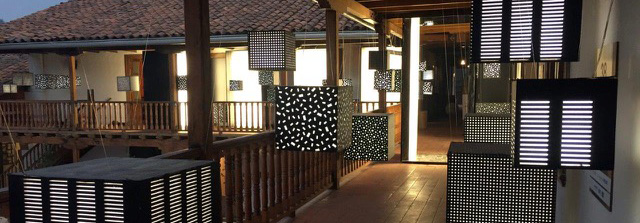Instalación de Cristián Donoso en Casa FOA
