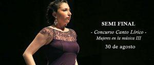 """Concurso de canto lírico """"Mujeres en la Música III"""" seleccionó 12 intérpretes"""