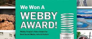 National Museum of Women in the Arts Gana Premio Webby People's Voice